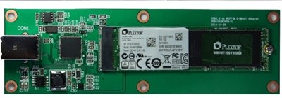 M.2 NGFF to USB3.0 adapter supports PCIE SSD