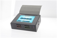 "SuperCopier 8"" SAS -  Touchscreen color LCD display, 4 SAS ports and 6 USB3.0 ports hard drive duplicator, TB 3.0/ USB3.1"