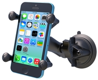 RAM Twist Lock Suction Cup Mount with Universal X-Grip® Cell/iPhone Cradle