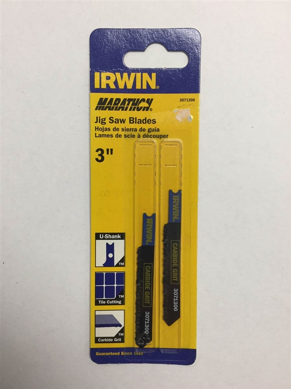 Irwin 3071300 3 Quot Jig Saw Blade 5 32 Quot Carbide Grit