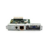 MP40 MP50 Interface Board LAN SER VGA Alarm & VGA