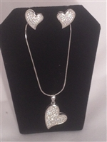 26199-157 Sterling Silver Necklace Set