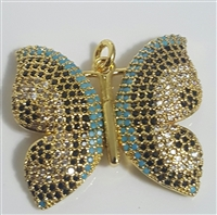 BUTFLY12G FASHION BUTTERFLY PENDANT
