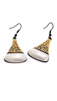 E0928 Trendy Gold Plated Earring