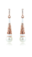E3157 Venetian Pearl Drop Earrings