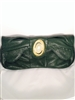 E560097100 Hunter Green Clutch