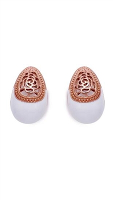 E9840 Egg Shape Earrings