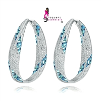 EE1WOO LUXURY HOOP EARRINGS