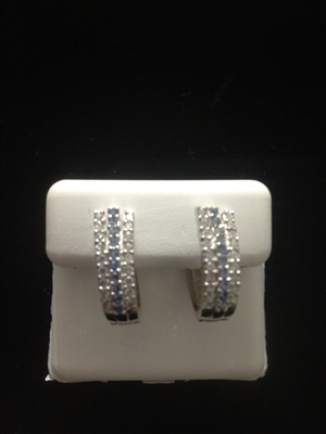 EE45752  STERLING SILVER EARRINGS
