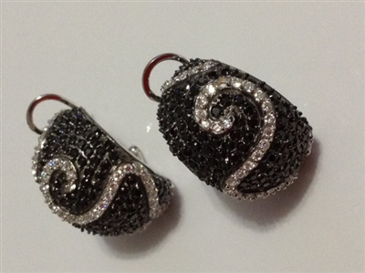 EEBCZE15  CZ EARRINGS