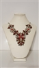 ER040D  Multi Beaded Necklace