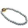 LO2646 Black Pearl Necklace
