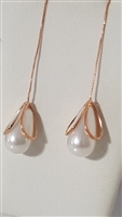 LO350P Fashion Pearl Earrings