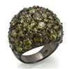 LOS291 Green Cluster Ring