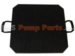 Square outrigger pads, Concrete Pump Parts, CRS Pump Parts
