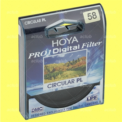 Hoya 58mm Pro1 Digital Circular PL Polarizer Filter