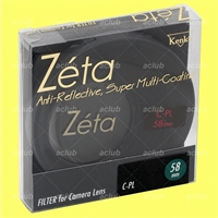 Genuine Kenko 58mm Zeta Wideband C-PL (W) Filter Circular Polarizing CPL 58 mm