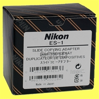 Genuine Nikon ES-1 Slide Copying Adapter BR-2A BR-5