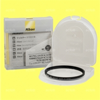 Genuine Nikon NC 62mm Neutral Color Filter Clear 62 mm