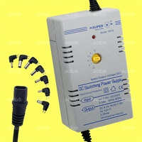 2.5A Multi-Voltage 4.5V-5V-6V-7.5V-9V-12V Regulated AC/DC Switching Power Supply