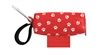 Doggie Walk Bags - Red with White Paws Duffel