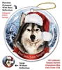 Alaskan Malamute Holiday Ornament - Made in the USA