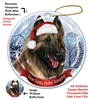 Belgian Tervuren Holiday Ornament - Made in the USA