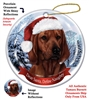 Coonhound (Red Bone) Holiday Ornament - Made in the USA