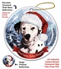 Dalmation Holiday Ornament - Made in the USA