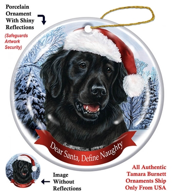 Flat Coated Retriever Ornament - Made in the USA