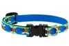 "Retired Lupine 1/2"" Blue Bees 8-12"" Adjustable Collar"