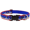 "Retired Lupine 1"" Snow Dance 16-28"" Adjustable Collar - MicroBatch"