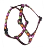 "Retired Lupine Candy Apple 12-20"" Roman Harness - Small Dog"