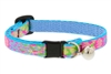 "Retired Lupine 1/2"" Cottage Garden Cat Safety Collar with Bell"