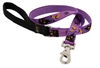 "Retired Lupine 3/4"" Haunted House 4' Padded Handle Leash"
