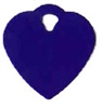 Heart Pet Tag - Aluminum Small