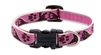 "Lupine 1/2"" Tickled Pink 10-16"" Adjustable Collar"