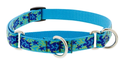 "Lupine 3/4"" Turtle Reef 10-14"" Martingale Training Collar"