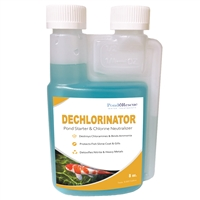 Dechlorinator and Pond Starter 8oz.