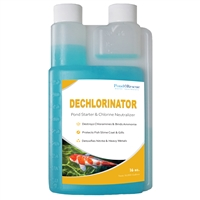 Dechlorinator and Pond Starter 16oz.