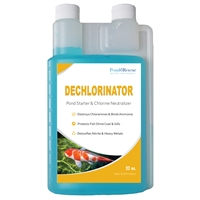 Dechlorinator and Pond Starter 32oz.