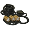 Kasco Marine LED6S19-200 LED 3 Light Kit 200 ft. Power Cord