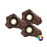 (3) 3-Watt Color Changing Rock Light Kit