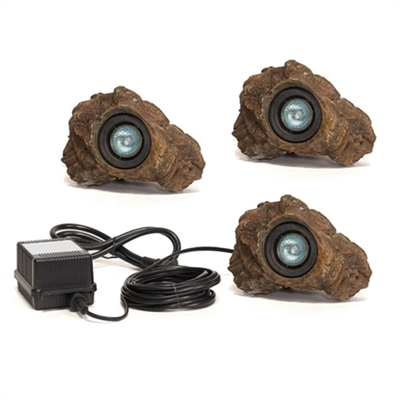 Rock LED Light Set