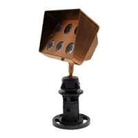 6-Watt LED Bronze Flood Light