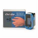 Oximeter Plus Oxi-Go Pro Sports Finger Pulse Oximeter  with Case