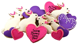 Some bunny loves you Sugar Cookies