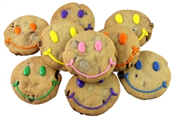 Smiley Chocolate Chip Cookies