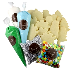 Decorate your own sugar cookies kit