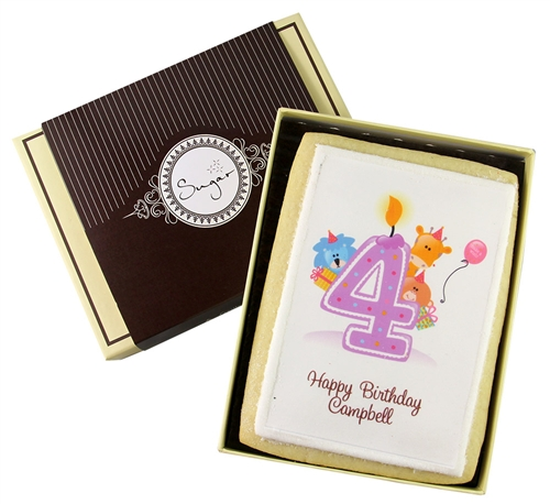 Invitation Thank You Greeting Card Custom Cookies Event Cookies